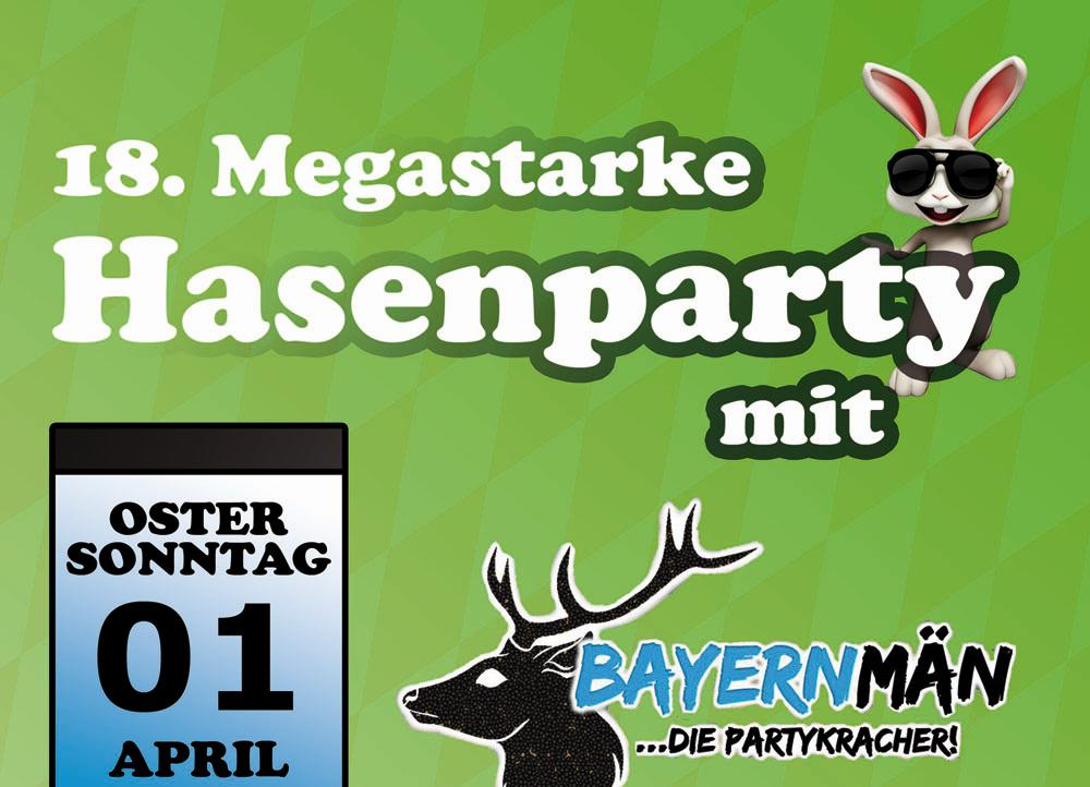 Banner Hasenparty 2018