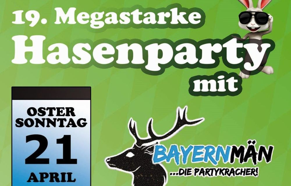 Banner Hasenparty 2019